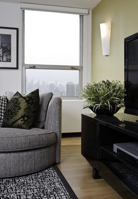 Contemporary Condo contemporary-family-room