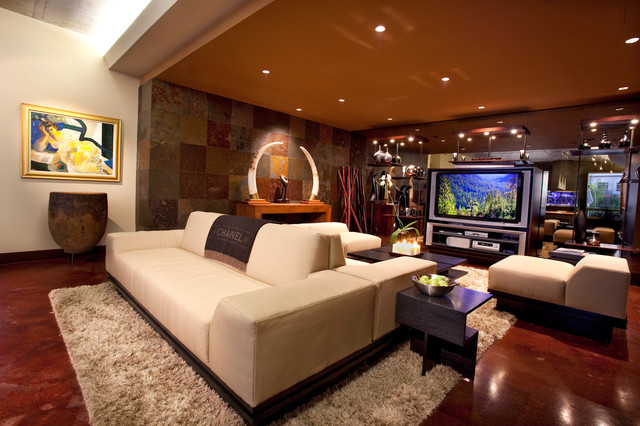 Contemporary contemporary-family-room