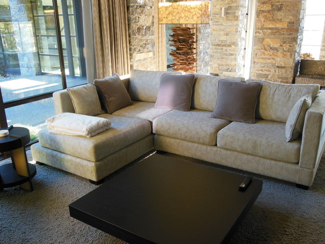 Contemporary Elegance contemporary-family-room