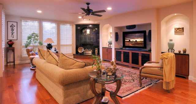 Contemporary elegance with and asian flair traditional for Flair custom homes
