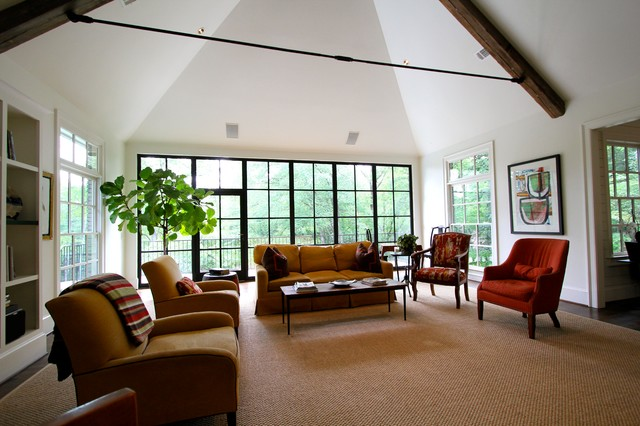 Vaulted Family Room contemporary-family-room