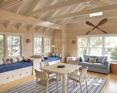Contemporary Family Room beach-style-family-room