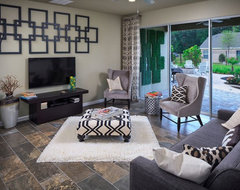 Young, urban living contemporary-family-room