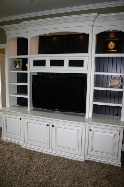 Entertainment Centers contemporary family room