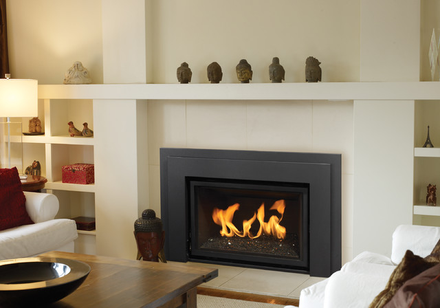 Regency Horizon HZI390E modern gas fireplace insert Contemporary