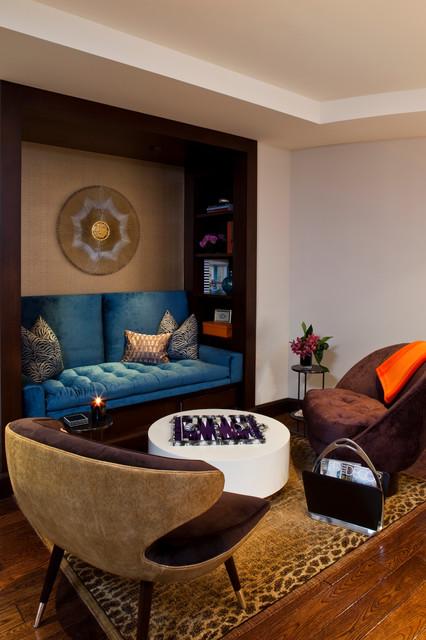 Denise Richards Residence contemporary-family-room