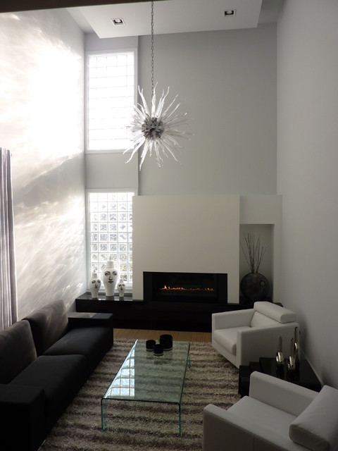 A Modern Family Room contemporary-family-room