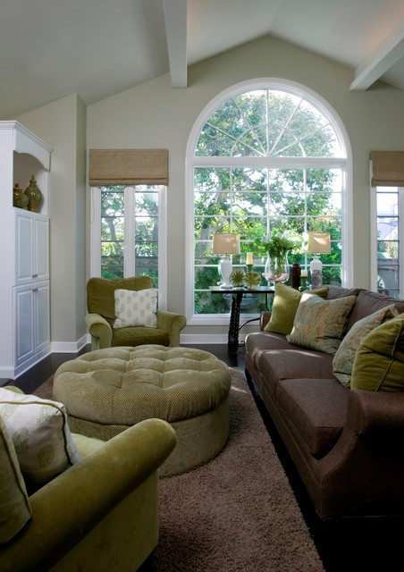 Zuniga Interiors contemporary family room