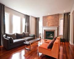 Contemporary House contemporary-family-room