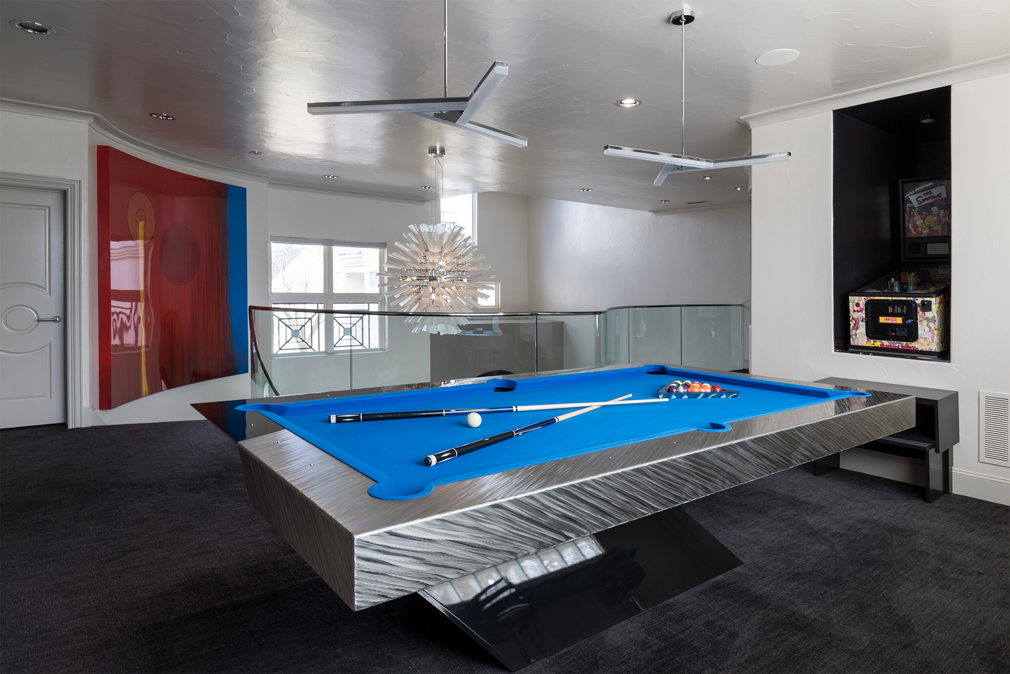 Contemporary Pool Table / Bar