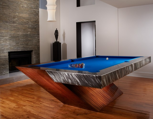 Contemporary Pool Tables Eclectic Game Tables Los