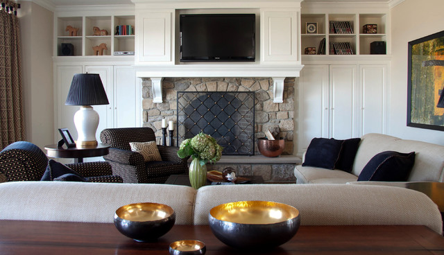 Leslie Hayes Interiors contemporary-family-room