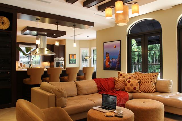 Contemporary - Roads Area Home contemporary-family-room