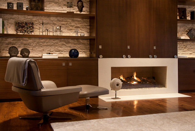 Contemporary tuscan contemporary family room los for Family room los angeles