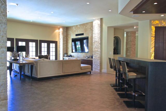 Salle de sejour contemporaine meilleures images d for Club cuisine et salle de bain bcbg