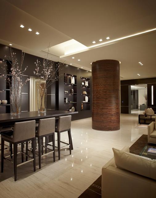 Continuum south tower miami beach pepe calderin design - Houzz interior design ...