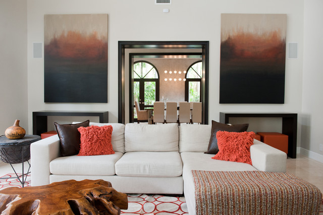 Coral Gables Home by Adi Balli contemporary-family-room