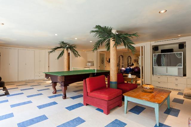 Cord Shiflet Lake Austin Estate eclectic-family-room