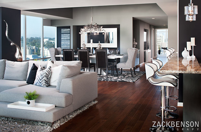 Cosmopolitan Living In Downtown San Diego - Modern - Family Room ...
