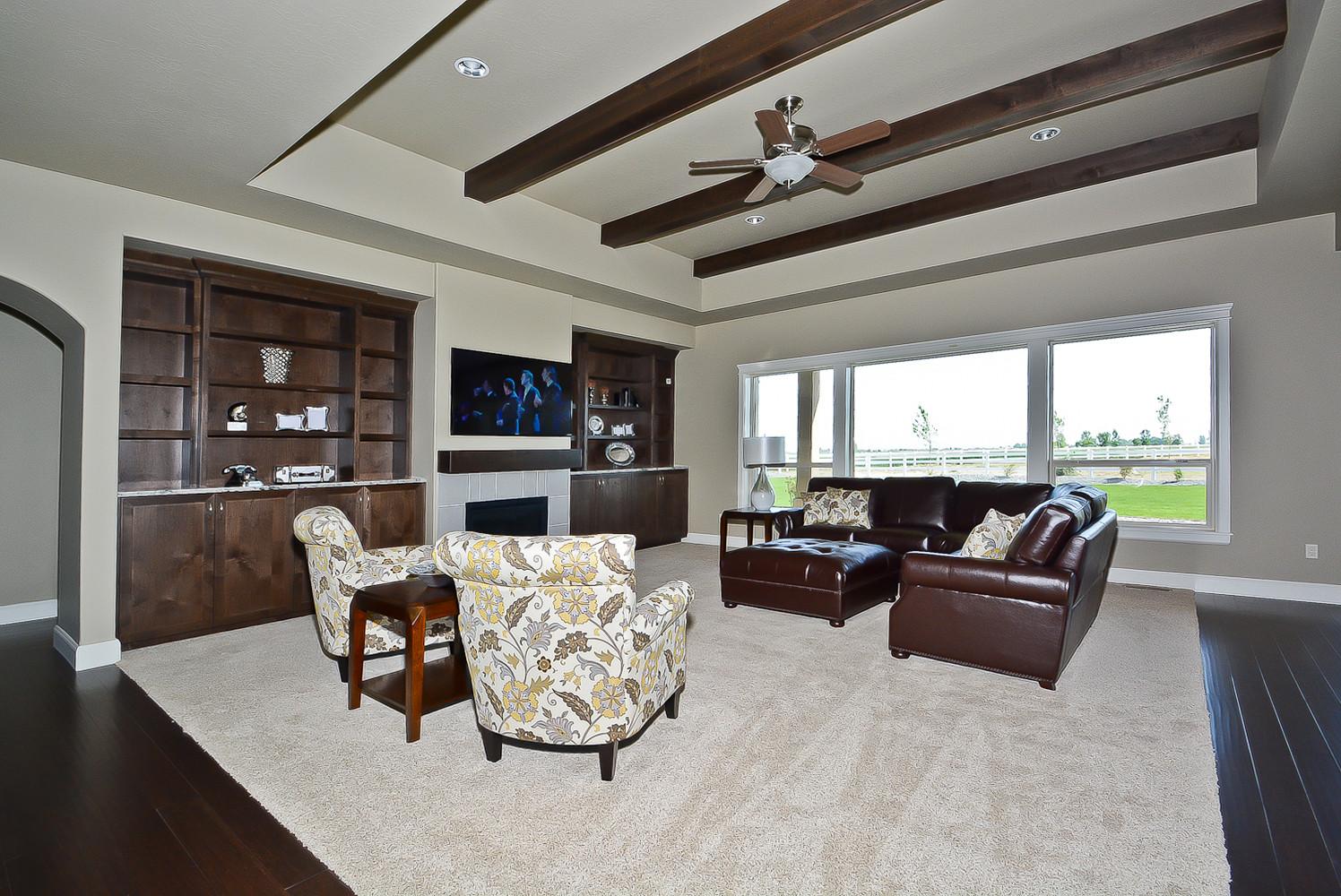 Cotner Building Home Desings Family Room