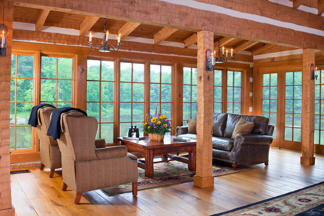 Country Retreat traditional-family-room