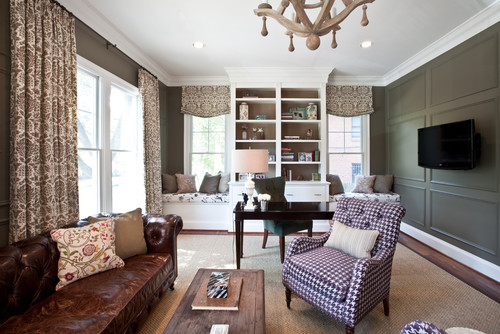 Elizabeth reich s hot talent in arlington dc by design for Ideal home study room