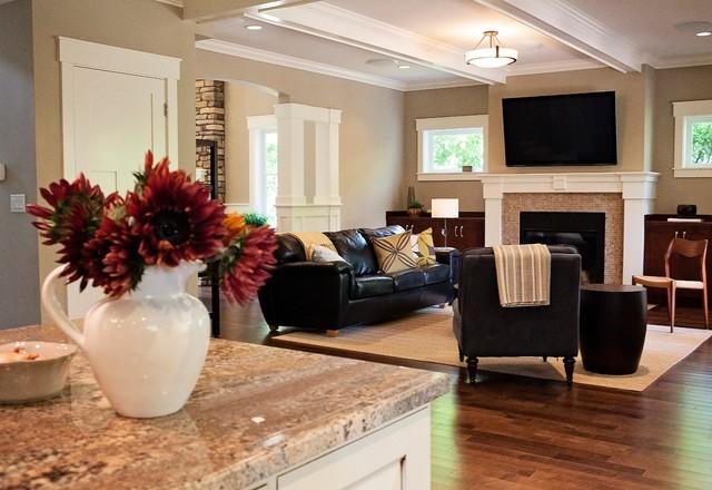 NW Craftsman craftsman-family-room