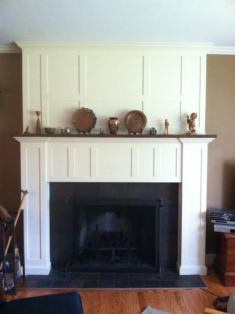 craftsman fireplace surround