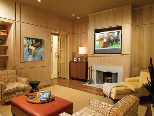 Crescendo Installed Systems contemporary-family-room
