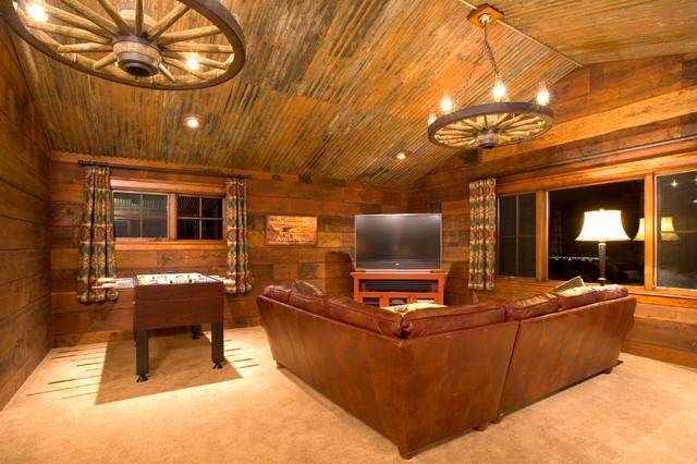 Crosswater Ski Lodge Traditional Family Room