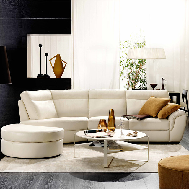 Cult by natuzzi italia contempor neo sala de estar for Natuzzi muebles