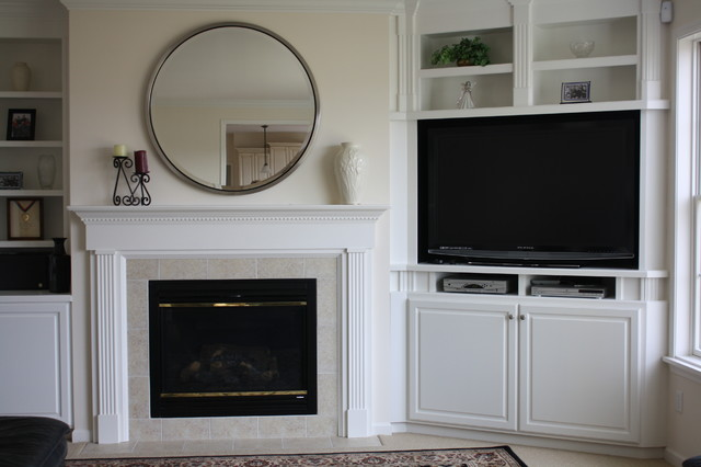 Custom Built-In Bookcases - Traditional - Family Room - Other - by OasisDesign&Remodeling