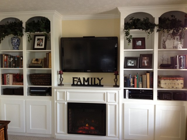 traditional family room by Signature Remodeling, Ltd.