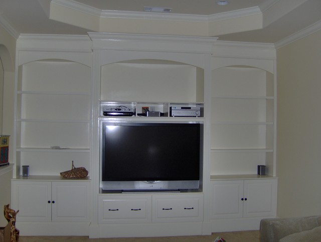 This Is An Example Of A Traditional Family Room In Atlanta