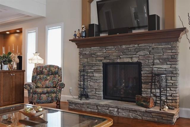 Custom Home Walnut Grove 12 craftsman-family-room