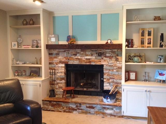 Custom Interior 1 Traditional Family Room Calgary