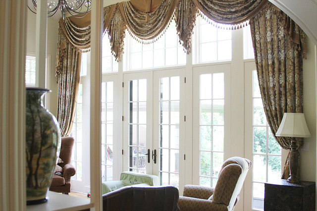 Custom Luxury Valances Glencoe Il Traditional Family