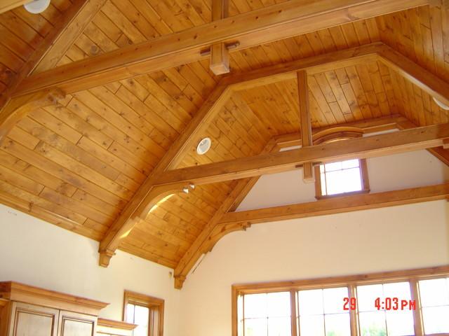 Custom Millwork traditional-family-room
