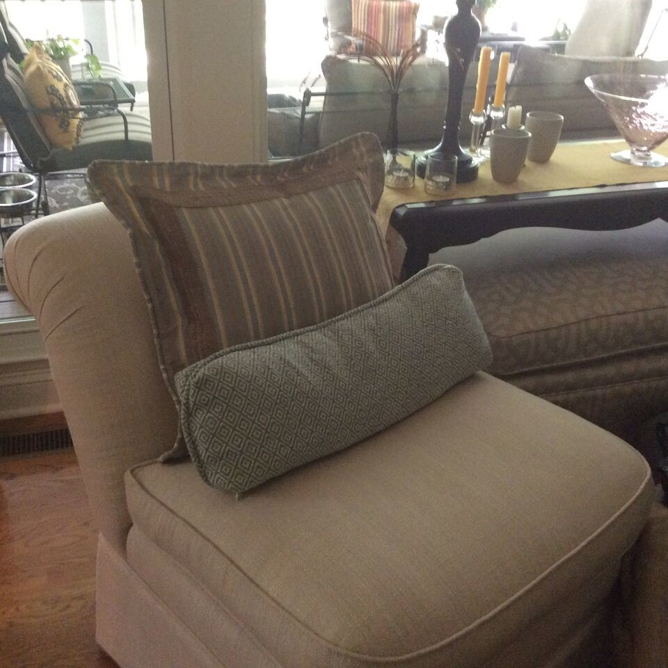 Custom Pillows and Chairs