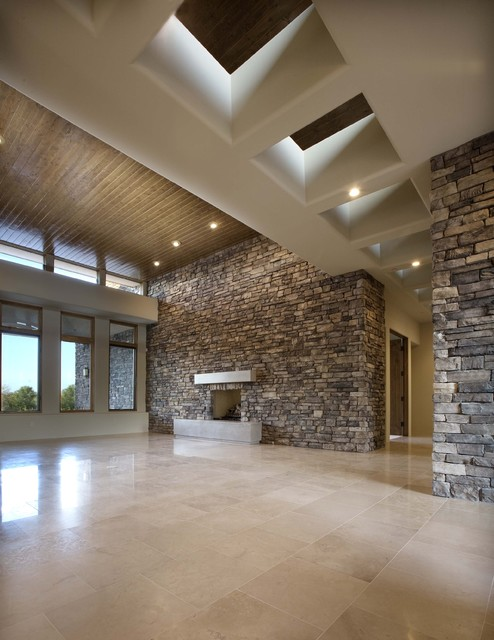 Custom Residence contemporary-family-room