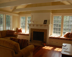 Custom Window Seat Cushions traditional-family-room