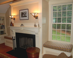 Custom Window Seat Cushions traditional family room