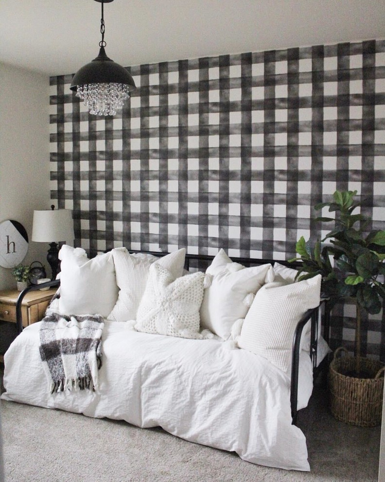 Inspiration for a country family room remodel in Seattle