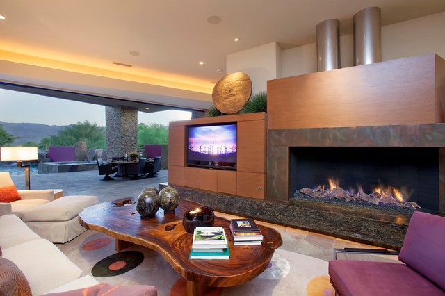 Cypress Pointe contemporary-family-room