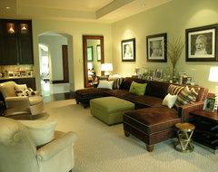 Dallas, Texas contemporary-family-room