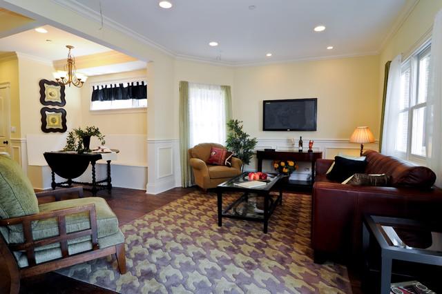 Damen Single Family contemporary-family-room