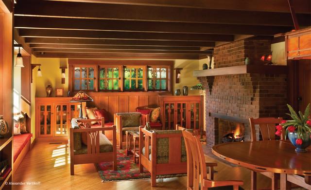 Darling Residence craftsman-family-room