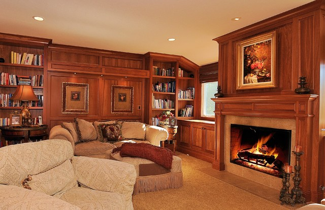 Debra Campbell Design traditional-family-room