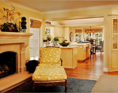 Debra Campbell Design traditional family room