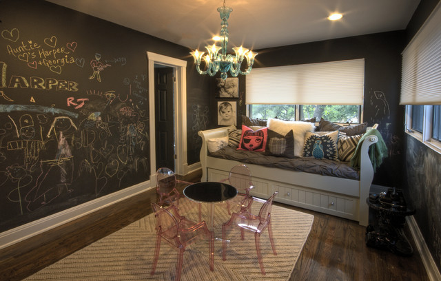 Tarrytown Remodel eclectic-family-room